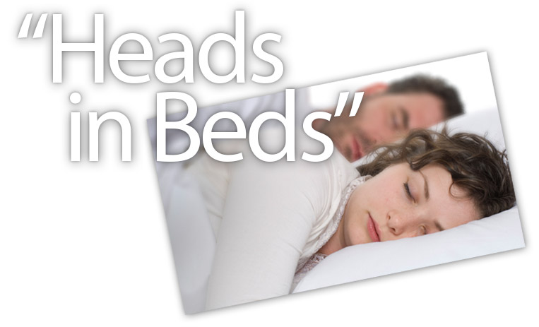 Heads-in-Beds